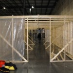 Construction of containment enclosure for industrial remediation