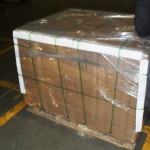 Repackaged pallet after remediation