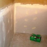 Replacement of wallboard after mold remediation