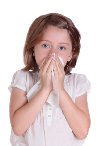 Facts about Mold exposure, girl-with-sniffles